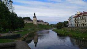 Pskov het Kremlin royalty-vrije stock afbeelding