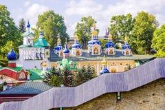 Pskov Jaskiniowy monaster pskov Rosji Fotografia Stock
