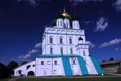 pskov katedralny chrześcijański troitsk Zdjęcia Royalty Free