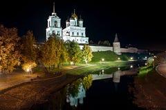 Pskov Kreml royaltyfri fotografi