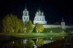 Pskov Kreml arkivfoton