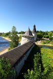 Pskov. The Kremlin. Visiting of the ancient city Pskov and Kremlin Stock Photography