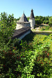 Pskov. The Kremlin. Visiting of the ancient city Pskov and Kremlin Royalty Free Stock Photography