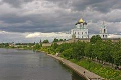 Pskov Kremlin Stock Image