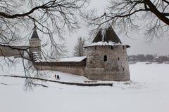 Pskov Kremlin Fotografia de Stock