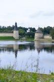 Pskov Kremlin fotografie stock libere da diritti