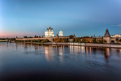 Pskov Kremlin Fotografia Royalty Free