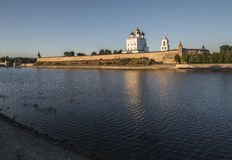 Pskov Kremlin. Holy Trinity Cathedral. Stock Photography