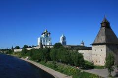 Pskov Kremlin La Russia Fotografia Stock Libera da Diritti
