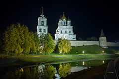 Pskov the Kremlin Stock Photos