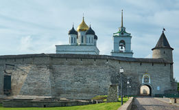 Pskov Kremlin. Also called Pskov Krom. Pskov, Russia Royalty Free Stock Image