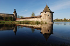 The Pskov Kremlin. Russia. View of the Pskov Kremlin on the river Royalty Free Stock Photography