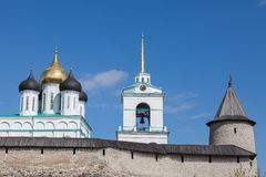 Pskov Kremlin, Russia Stock Photos