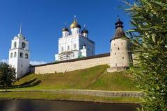 Pskov Kremlin, Russia (Golden Ring of Russia).  Stock Images