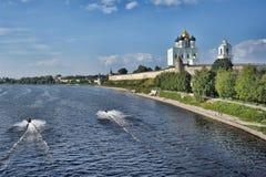 Pskov Kremlin Stock Photos