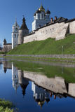 Pskov Kremlin at sunrise. Russia Stock Photography