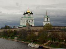 The Pskov Kremlin Royalty Free Stock Images