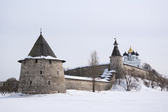 Pskov Kremlin Royalty Free Stock Photos