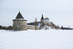 Pskov Kremlin Stock Photo