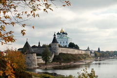 Pskov Kremlin Royalty Free Stock Images