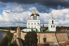 Pskov Kremlin Stock Photography