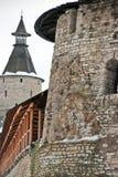Pskov. La torre plana Imagenes de archivo