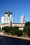Pskov. O Kremlin Fotografia de Stock