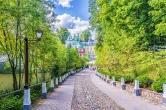 Free Pskov-Pechersky Monastery Near Pskov, Russia Stock Image - 85769151