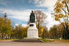 Pskov. Russia. Monument to Saint Princess Olga. Pskov. Russia Stock Photography