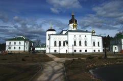 Pskov. Spaso-Eleazarovsky female monastery. Pskov Stock Image