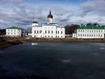 Pskov. Spaso-Eleazarovsky female monastery. Pskov Royalty Free Stock Photography
