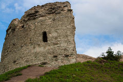 Pskov St Varlaam kąta wierza Zdjęcie Stock
