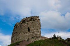 Pskov St Varlaam kąta wierza Fotografia Royalty Free