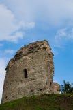 Pskov Torre do canto do St Varlaam Foto de Stock