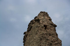 Pskov Torre do canto do St Varlaam Fotografia de Stock