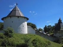 Pskovo-Pechersky Dormition Monastery Stock Photography