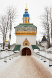 Pskovo-Pechersky monastery Royalty Free Stock Photo