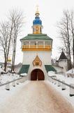 Pskovo-Pechersky monastery Royalty Free Stock Photo