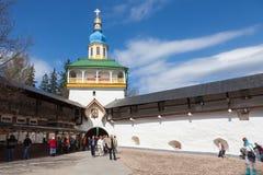 In the Pskovo-Pechersky monastery Royalty Free Stock Image