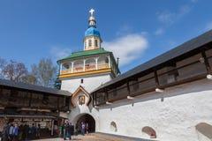 In the Pskovo-Pechersky  monastery on Easter Royalty Free Stock Images