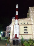 PSLV rocket statue Royalty Free Stock Image