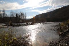 Psou flod Fotografering för Bildbyråer