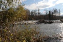 Psou flod Royaltyfri Fotografi