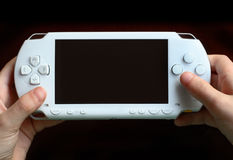 PSP (Ceramic White). Sony Portable Playstation, in ceramic white Stock Photography