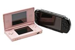 PSP ET NDS Image libre de droits