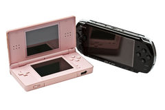 PSP & NDS royalty free stock image