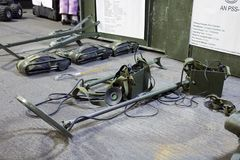 PSS-12 и другая аппаратура обнаружения шахты Стоковое фото RF