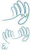 Pássaro da paz Imagens de Stock Royalty Free
