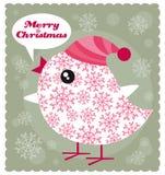 Pássaro do Natal Fotografia de Stock Royalty Free