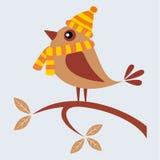 Pássaro do outono Fotografia de Stock Royalty Free